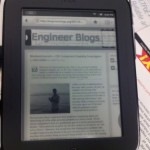 Weekend Journal: A New Way To Consume Engineering Information