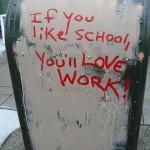 School vs. Work (by Carmen Parisi)