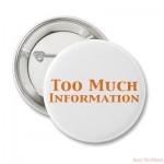 TMI from your Advisor?